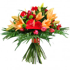 Bouquet of flowers are my love (Medium)