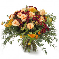 Bouquet of autumn flowers (Medium)