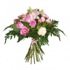 Bouquet of flowers. I send you kisses (Medium)