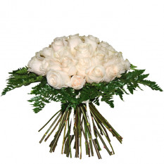 Bouquet of white roses (Small)