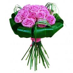 Ramo de 20 rosas rosadas