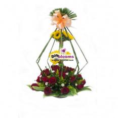 Arreglo floral para cumpleaños-5