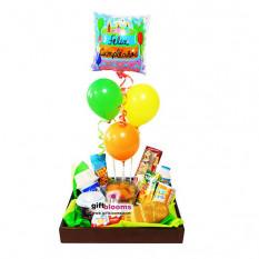 Desayuno y cumpleaños para niños