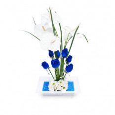 Flores Azules - FAZ001