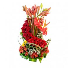 flores para los amantes