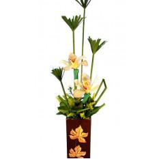 Arreglo Floral de orquídeas ORQ067