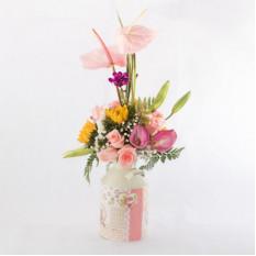 Arreglo floral vintage-6