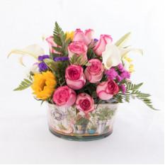Arreglo floral vintage-7