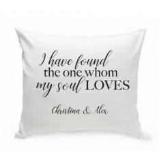 PAREJAS y almohadas ROMANCE