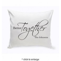 Cojín Personalizado Better Together