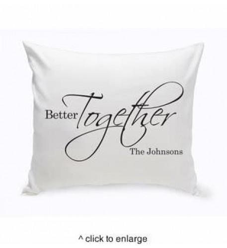 Cojín Personalizado Better Together