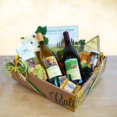 La mejor canasta de regalos de vino de California