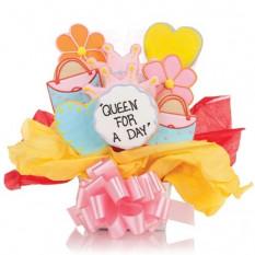 Reina para el día Cookie Bouquet (12 galletas)