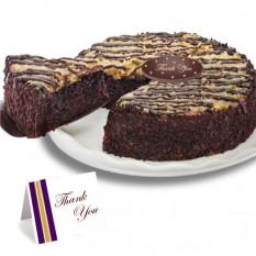 """Chocolate alemán """"Gracias"""" Cake"""