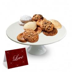 "Una docena Surtido Gourmet Cookies- ""San Valentín"""