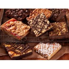Muestrario de Brownie Gourmet surtido