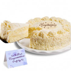 """Vanilla Bean Cake """"Enhorabuena"""""""