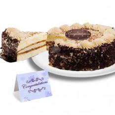 """Tiramisu Cake Classico """"Enhorabuena"""""""