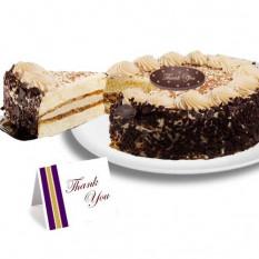 """Tiramisú Classico """"Gracias"""" Cake"""