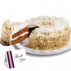"""Zanahoria """"Gracias"""" Cake"""