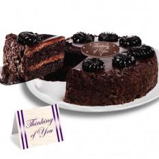 """Mousse de chocolate torta """"porque sí"""" Cake"""