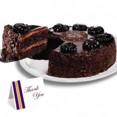 "Mousse de chocolate torta ""Gracias"" Cake"