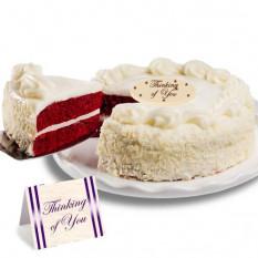 "Red Velvet chocolate ""porque sí"" Cake"