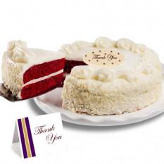 """Red Velvet chocolate """"Gracias"""" Cake"""