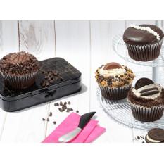 JUMBO Chocolate Lovers Cupcakes