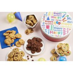 ¡Feliz cumpleaños! Estaño Mini-Cookie