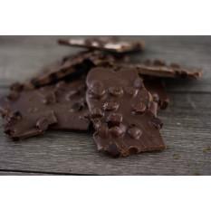 Corteza de granada de chocolate oscuro