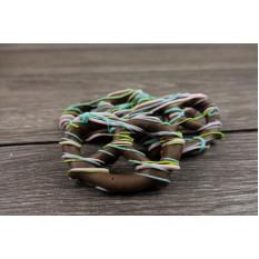 Pretzels cubiertos de chocolate de primavera - Caja de 12