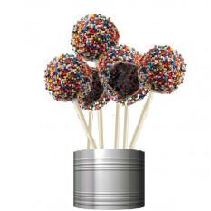 La torta hace estallar - Diseño Espolvorear partido (12 COP)