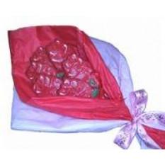 Mano diciembre Rose Cookies Bouquet, 6 galletas
