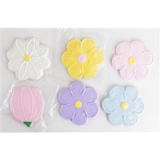 Flores clasificadas Galletas