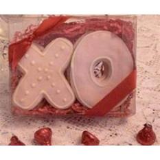 X & O Galletas caja de regalo