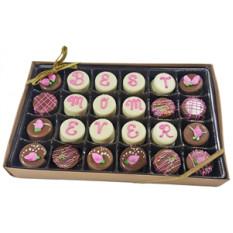 Mini galletas Oreo® - La mejor mamá de todos, caja de regalo de 24