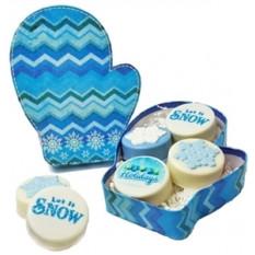 Galletas de Oreo - Caja de regalo de tema de invierno pequeño