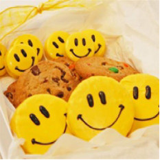 El dulce trata la caja de regalo, Smiley Faces
