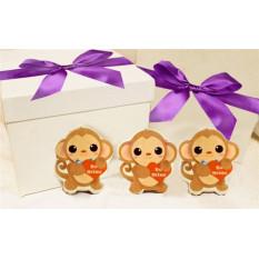 Ninguna caja de regalo de galletas de Monkey Business