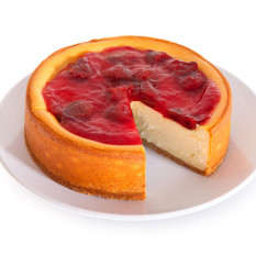 Tarta de queso Ny Strawberry Topped - 6 pulgadas
