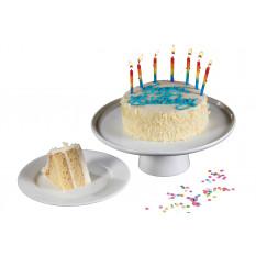 La torta del feliz cumpleaños capa de oro Butter Vanilla (2-capa)