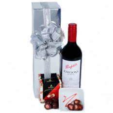 Enviar The Red - Wine & Chocolate Hamper