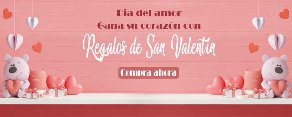 día de San Valentín entrega de regalos a España