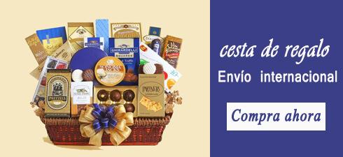 enviar cesta de regalo a nivel internacional